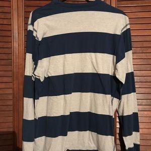 Old Navy Shirts - XL Old Navy Striped Long Sleeve Shirt